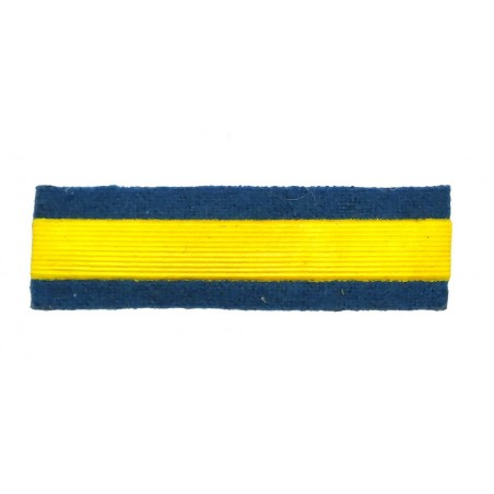 Stripe for participants in a course of military schools - 1 course, light-blue