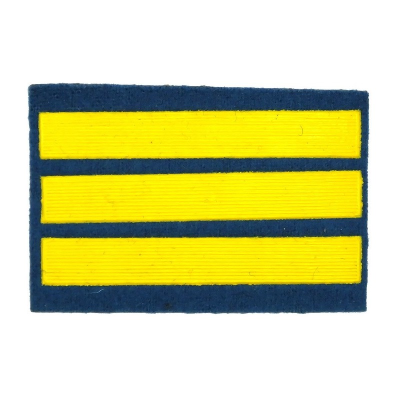 Stripe for participants in a course of military schools - 3 course, light-blue
