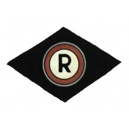 "Shoulder stripe ""Military Service of the Traffic"""