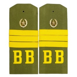 """Sergeant of """"VV"""" epaulets for shirt"""