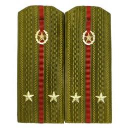 Pagony do koszuli porucznika Wojsk Wewnętrznych