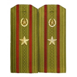 Epaulettes for shirt of the major of Internal Forces