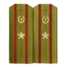 Pagony do koszuli majora Wojsk Wewnętrznych