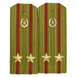 Pagony do koszuli podpułkownika Wojsk Wewnętrznych