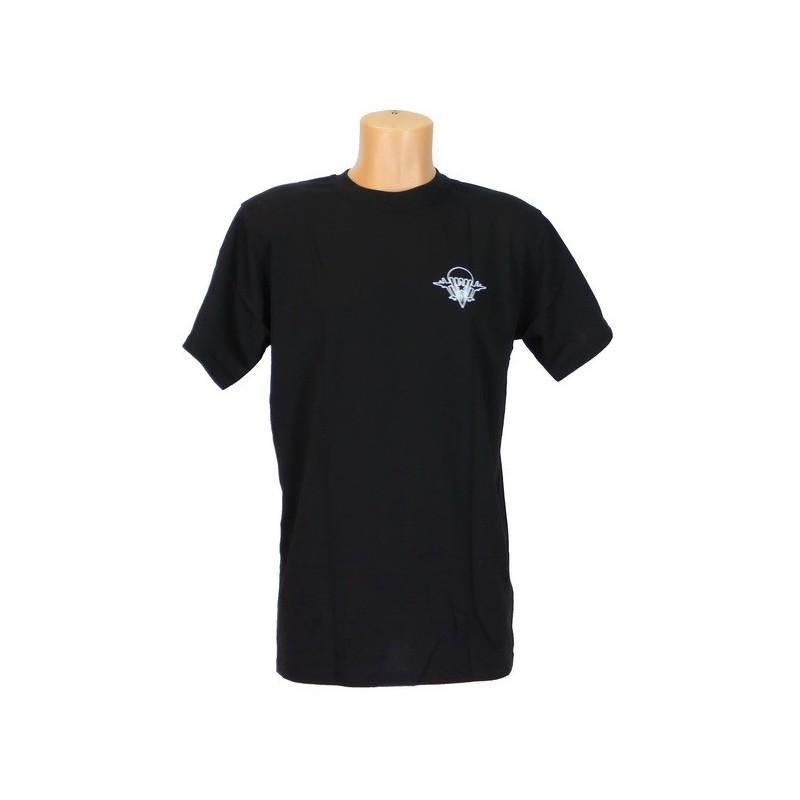 """T-shirt """"WDW"""", czarny"""
