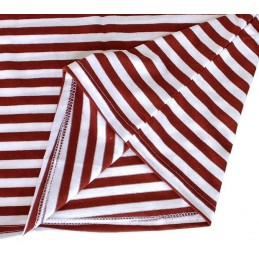 Mayka shirt, claret (krapowa), cotton