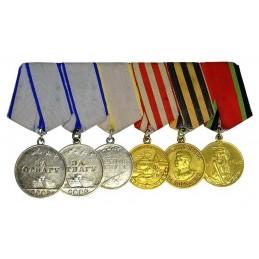 """Medal spange """"6"""""""