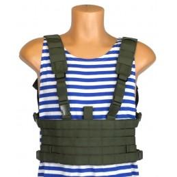 """Micro-Chest MOLLE"" vest, OD"
