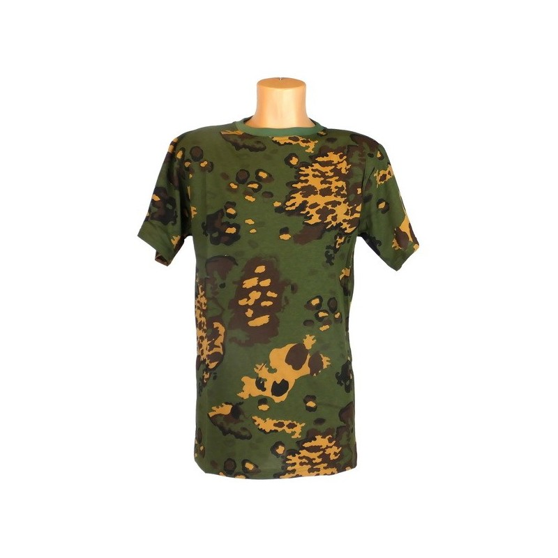"T-shirt in camouflage ""Partizan"""