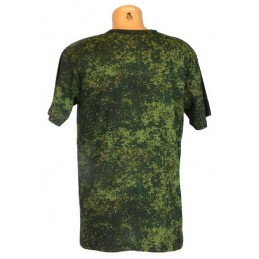 "T-shirt in camouflage ""Digital Flora"""