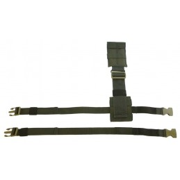 TI-P-UD-KU Extension cord for pouches and holsters, OLIVE