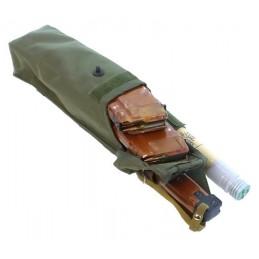TI-P-2RPK-ROPP Ładownica na 2 magazynki RPK-74, flarę i nóż, prawa, OLIWA