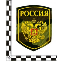"""Stripe """"Russia"""", camouflaged background"""