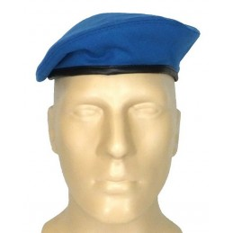 "Small, light blue beret - ""tear"""