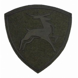 """Volga River Internal Forces District"" patch, slaked"