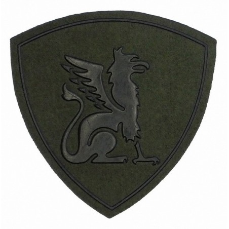"""Eastern Internal Forces District"" patch, slaked"