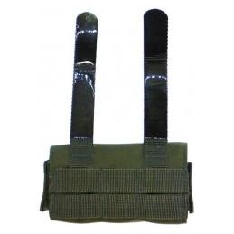 TI-P-12DP-00 Pouch for 12 shotgun shells, OLIVE