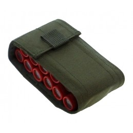 TI-P-12P-12K Pouch for 12 shotgun shells, OLIVE