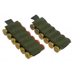 TI-P-12P-12K Pouch for 12 shotgun shells, OLIVE
