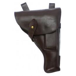 TT pistol holster, leather, brown
