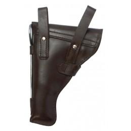 Kabura do pistoletu TT, skórzana, brązowa