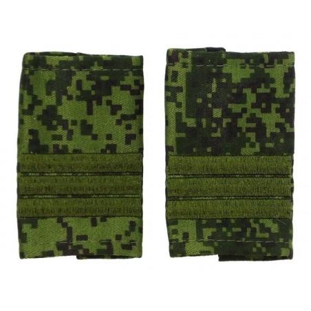 Epaulets for sergeant MVD, camouflage - Digital Flora