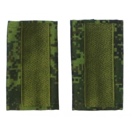 Epaulets for master sergeant MVD, camouflage - Digital Flora