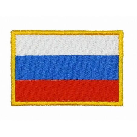 Naszywka - Flaga Rosji, haftowana, z rzepem