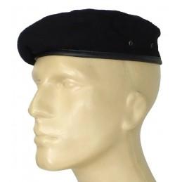"""Small, black beret - """"tear"""""""