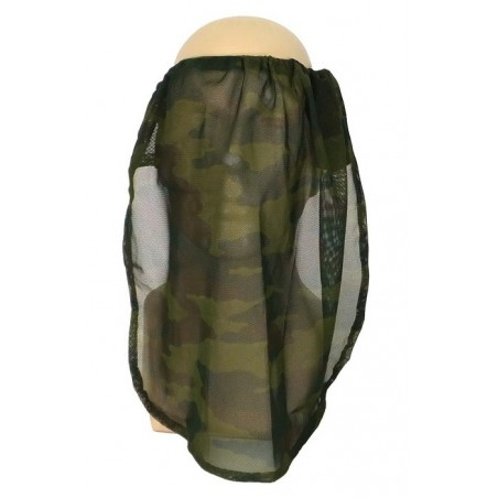 Medical scarf - bandana in olive, big