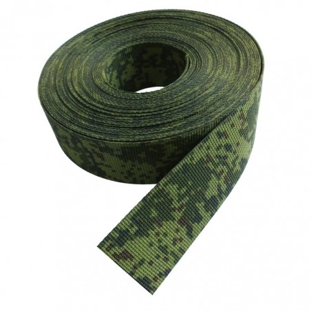 Load-bearing tape Digital Flora 40 mm