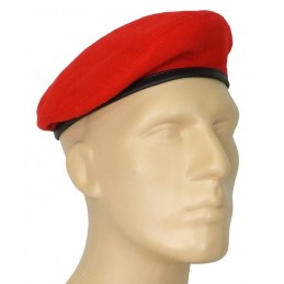 """Small, red beret - """"tear"""""""
