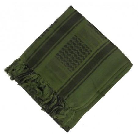 Arafatka-chusta - zielono-czarna