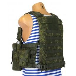 "TI-OZ-BNZM-GAK Combat vest BNZ-M, ""AK Shooter"" set, Digital Flora"
