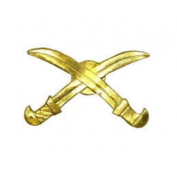 """Cossack Armies"" branch insignia, gold"