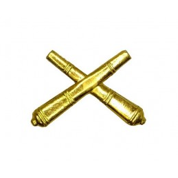 """Missile Forces and Artillery"" branch insignia, gold"