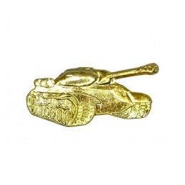 "Korpusówka ""Wojska Pancerne"", złota, prawa"