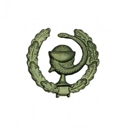 """Medical Service"" branch insignia, field, left"