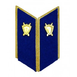 Patki do mundurów wyjściowych Prokuratury z korpusówkami