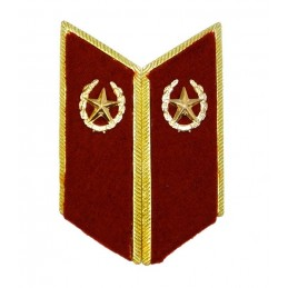 Collar tabs of Internal Forces for official uniforms with tabs