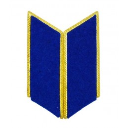 Collar tabs of KGB, Prosecutors or Cavalry for official uniforms