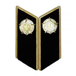 Patki do mundurów wyjściowych Wojsk Chemicznych z korpusówkami