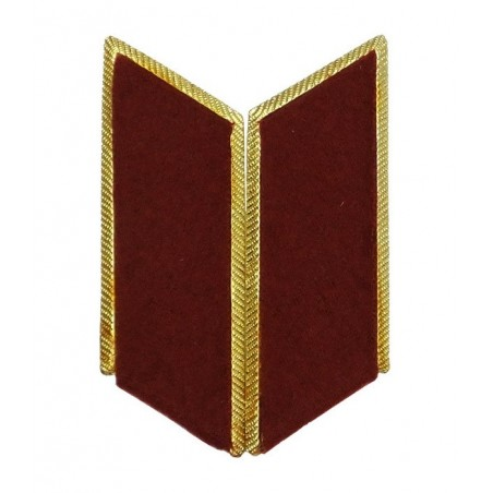 Collar tabs of Internal Forces for official uniforms