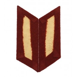 Collar tabs of Internal Forces for ordinary uniforms