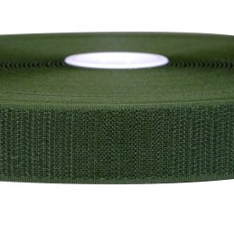 Fasteners of the Velcro® - HOOK, olive. 25 mm