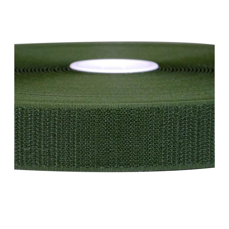 Rzep Velcro - HACZYK, oliwkowy - 25mm