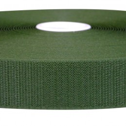 Fasteners of the Velcro® - HOOK, olive. 30 mm