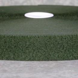 Rzep Velcro - PĘTELKA, oliwkowy - 30mm