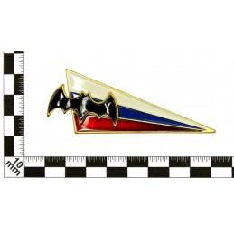 Szewron na beret Zwiadu, flaga