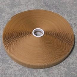 Rzep Velcro - HACZYK, piaskowy (Tan) - 25mm